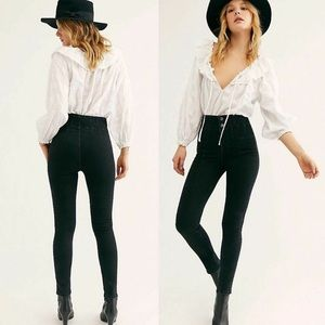 NWT Free People Jayde High Rise Skinny Jeans 27
